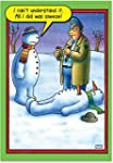 CAB5706 Snowman Sneeze Christmas Funn...