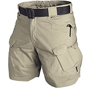 "Helikon Men's Urban Tactical Shorts 8.5"" Khaki by Helikon"