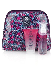 Love & Prep Wash Bag Gift Set