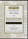 Applause First Folio of Shakespeare in Modern Type: Comedies, Histories and Tragedies