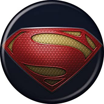 amazoncom superman man of steel superman chest logo