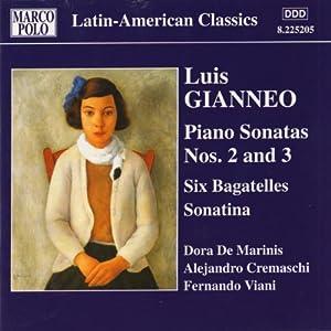 Gianneo Piano Sonatas Nos 2-3 from Marco Polo