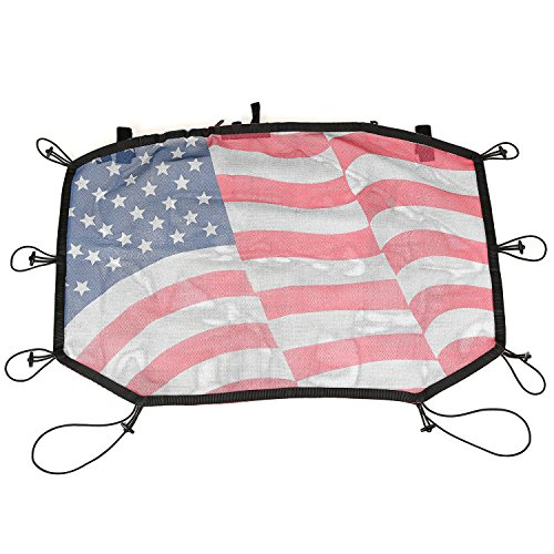 Rugged Ridge 13579.20 Hardtop Sun Shade ( Front Flag 07-16 Wrangler) (Rugged Ridge Sun Shade compare prices)