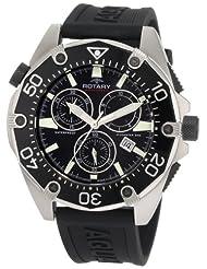 Rotary Men's AGS90036/C/04 Aquaspeed Sports Chronograph Strap Swiss-Made Watch