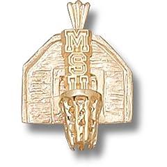 Michigan State University MSU Backboard - 10K Gold by Logo Art