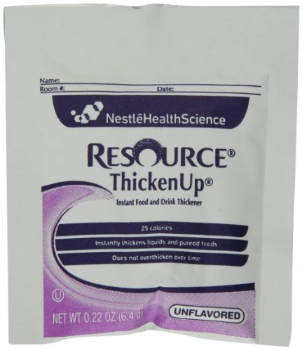 Resource Thicken Up, Instant Food and Drink Thickener, 0.22 Packets (Pack of 75)