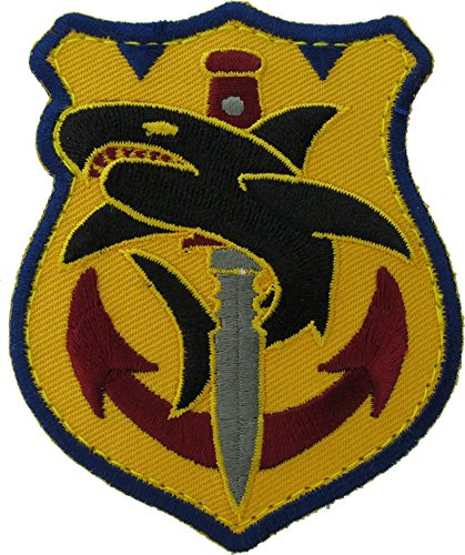 Tac Shark Morale Patch (Full Color) (Sharks Patch compare prices)