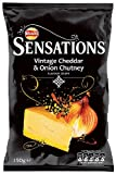 Sensations Vintage Cheddar and Chutney 150 g (Pack of 12)
