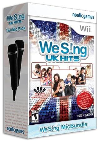 We Sing: UK Hits with 2 Microphones - Nintendo Wii