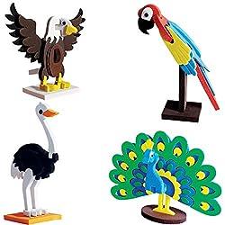 Imagimake Worldwide:Birds Educational Toy & Construction Set