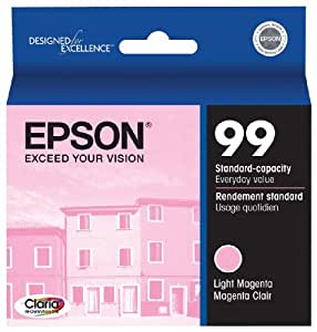 Epson T099620 99 Ink Cartridge for the Epson Artisan 700 and Artisan 800 Printers Light Magenta