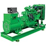 Stateline John Deere-Powered Stationary Generator - 107 kW, With Enclosure, Model# SPC-107-J