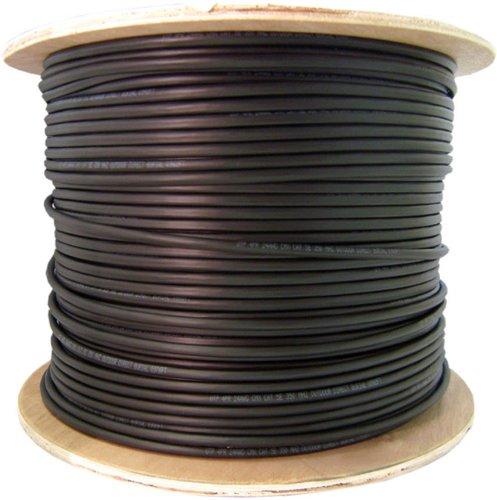 C&E 1000 feet 18AWG CCS RG6 60% Dual Shield Coaxial Cable.
