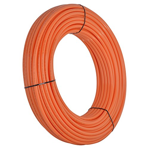 SharkBite U860O500 1/2-Inch PEX Tubing, 500 Feet, ORANGE, for radiant heat, hydronic heating and tile floor heating systems. (Hydronic Radiant Heating compare prices)