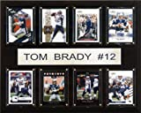 NFL Tom Brady New England Patriots 8 Card Plaque