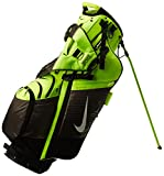 Nike BG0360-701 Air Hybrid Golf Carry Bag, Volt/Silver/Dark Grey
