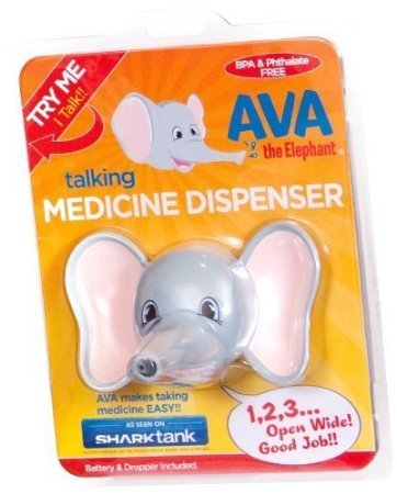 Ava the Elephant Talking Children's Medicine Dispenser by Ava the Elephant - 1