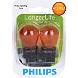 Philips 4157NA LongerLife Miniature Bulb, 2 Pack
