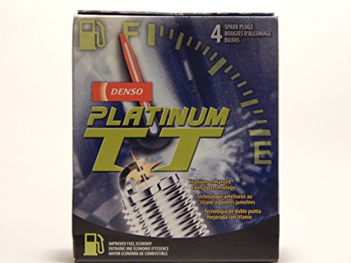 4 PCS *NEW* -- DENSO #4505 PLATINUM T T Spark Plugs -- PKH16TT (2004 Nissan Titan Spark Plugs compare prices)