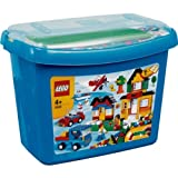 Delightful LEGO® Deluxe Brick Box - 5508 with accompanying Lego HSB Storage Bag