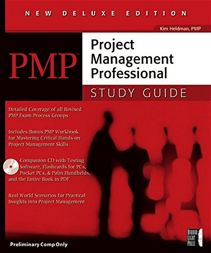 PMP: Project Management Professional Study Guide, Deluxe Edi