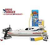 """Radio Ranger ll"""" 34"""" Remote Control Fishing Boat UPGRADED 2.4Ghz Remote System"""