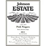 2011 Johnson Estate Lake Erie Pink Niagara Blush Wine 750 mL