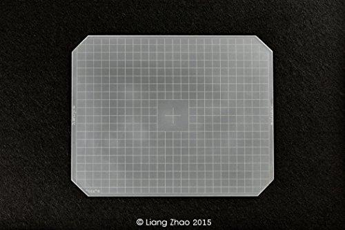Yanke g 810-01 en verre dépoli de mise au point universel pour appareil photo 8 x 10 x; 253.0 202.0 x 2 mm