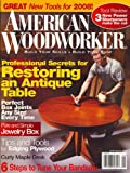 img - for American Woodworker, January 2008 Issue book / textbook / text book