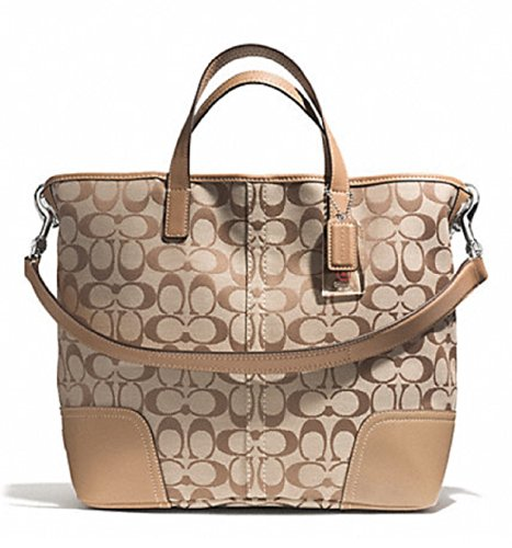 Coach  Coach Hadley Signature Duffle Handbag Tote F28981