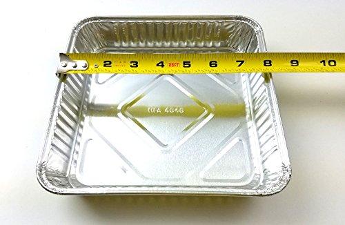 Handi-Foil Square Aluminum Foil Cake Pan 1-5/16