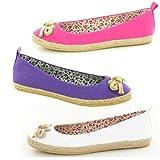 Womens Canvas Pumps Beach Shoes