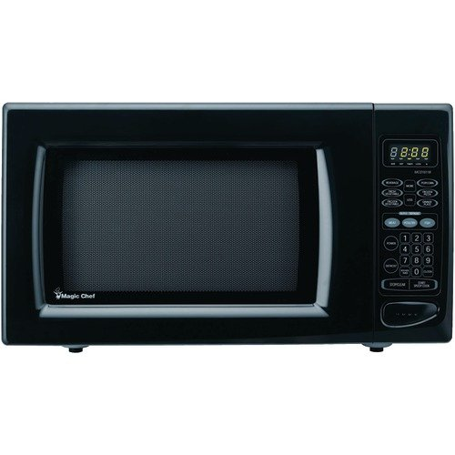 1 6 cubic ft 1100 watt microwave with digital touch magic chef