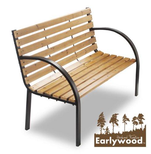 Earlywood Yarnton Zweisitzer Bank Gartenbank aus Hartholz 1,2 m bestellen