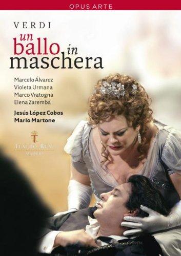Un Ballo In Maschera (Cobos)  - Verdi  - DVD
