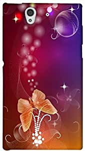 Timpax protective Armor Hard Bumper Back Case Cover. Multicolor printed on 3 Dimensional case with latest & finest graphic design art. Compatible with Sony L36H - Sony 36 Design No : TDZ-25625
