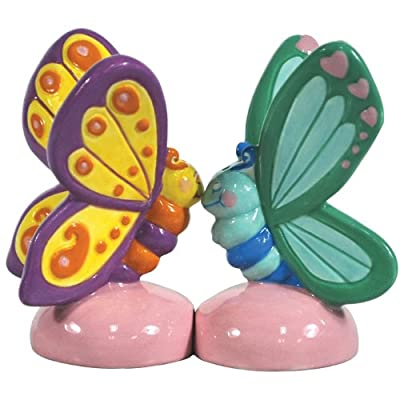 Westland - Butterflies Touching Noses Salt & Pepper Shakers from Westland
