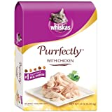 Whiskas Purrfectly with Chicken Gourmet Dry Food for Cats, 14-Pounds Bag ~ Whiskas