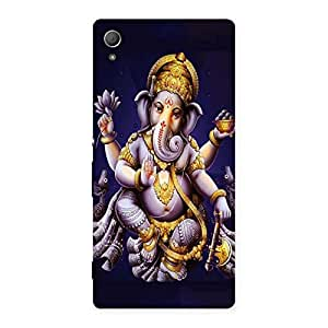 Enticing Dancing Ganesha Back Case Cover for Xperia Z4