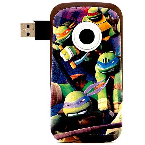 Nickelodeon's Teenage Mutant Ninja Turtles Snapshots Digital Video Camcorder with 1.5-Inch Screen