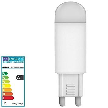 osram parathom led lampe g9 halogenlampe 1 9 watt 140 dc791. Black Bedroom Furniture Sets. Home Design Ideas