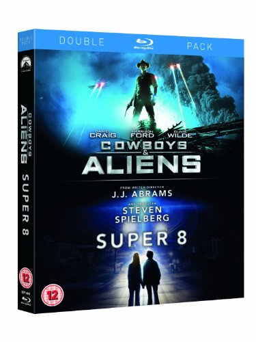 Cowboys & Aliens / Super 8 Double Pack [Blu-ray] (Region Free)
