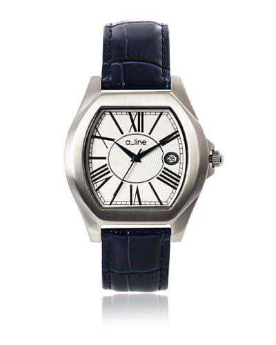 a_line Women's 80008-02-BU Adore Blue/Silver-Tone Leather Watch