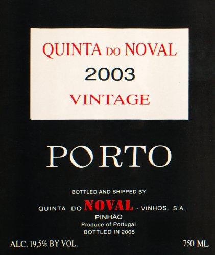 2003 Quinta Do Noval Port Douro 750 Ml