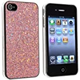 "Slabo Hardcase Case Schutzhülle für Apple iPhone 4s | iPhone 4 - ""Bling Strass Diamant"" - PINK 