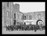 WallsnArt ''Revolt In Castelvetrano, 1894, Italy, 19Th Century'' Synthetic Paper Painting (49 cm x 61 cm x 6 cm)
