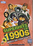 Superhits Of 1990s Vol. 2 (Bollywood Hit Music Videos Of The 90s/Hindi Film Songs Compilation DVD) [DVD]