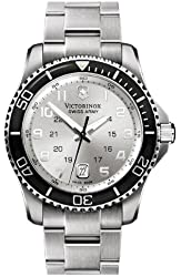 Victorinox Swiss Army Men's 241437 Maverick Stainless Steel Silver Dial Watch