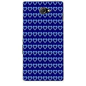 Skin4gadgets HEART Pattern 16 Phone Skin for XPERIA M2 (S50H)