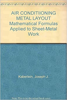 Air Conditiioning Metal Layout Mathematical Formulas